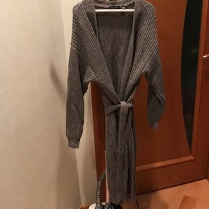 American Apparel long cardigan sweater size XS